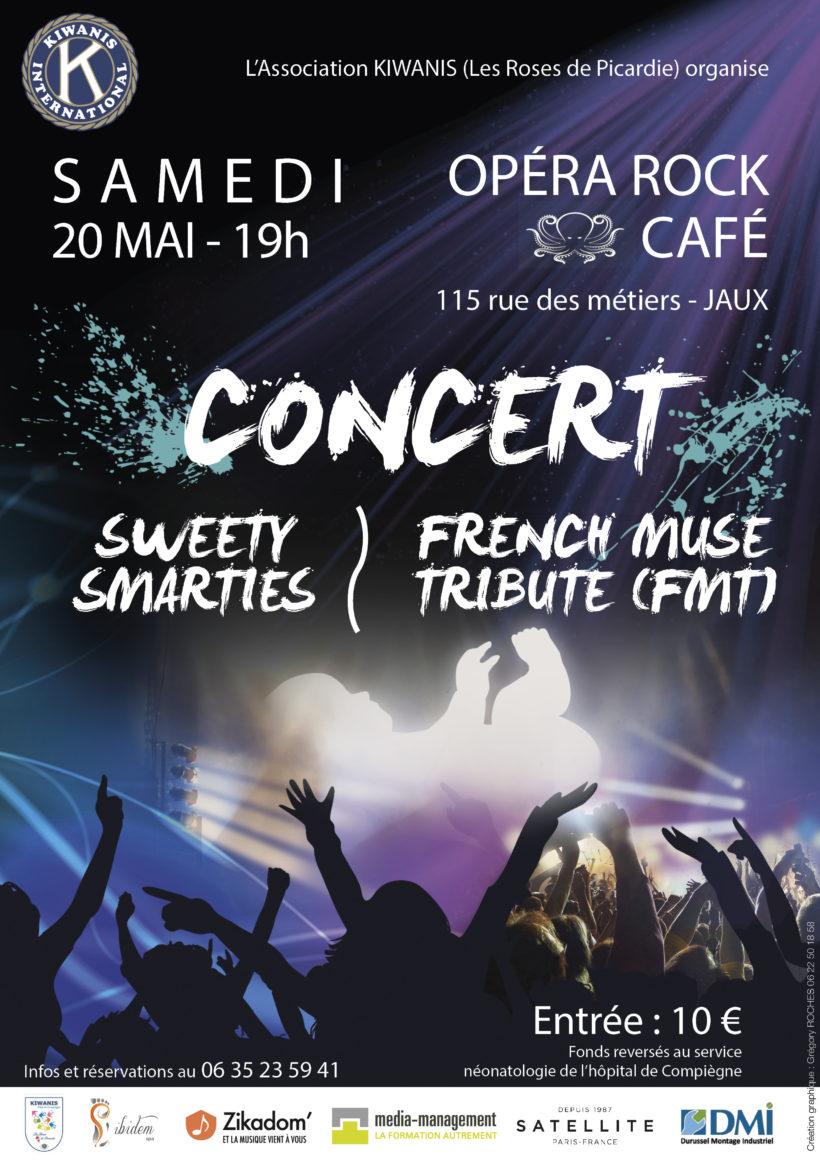 Affiche Concert Kiwanis